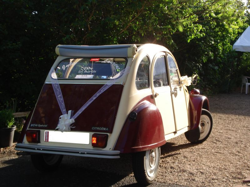 mariage en 2cv la p tite 2cv de laurent. Black Bedroom Furniture Sets. Home Design Ideas